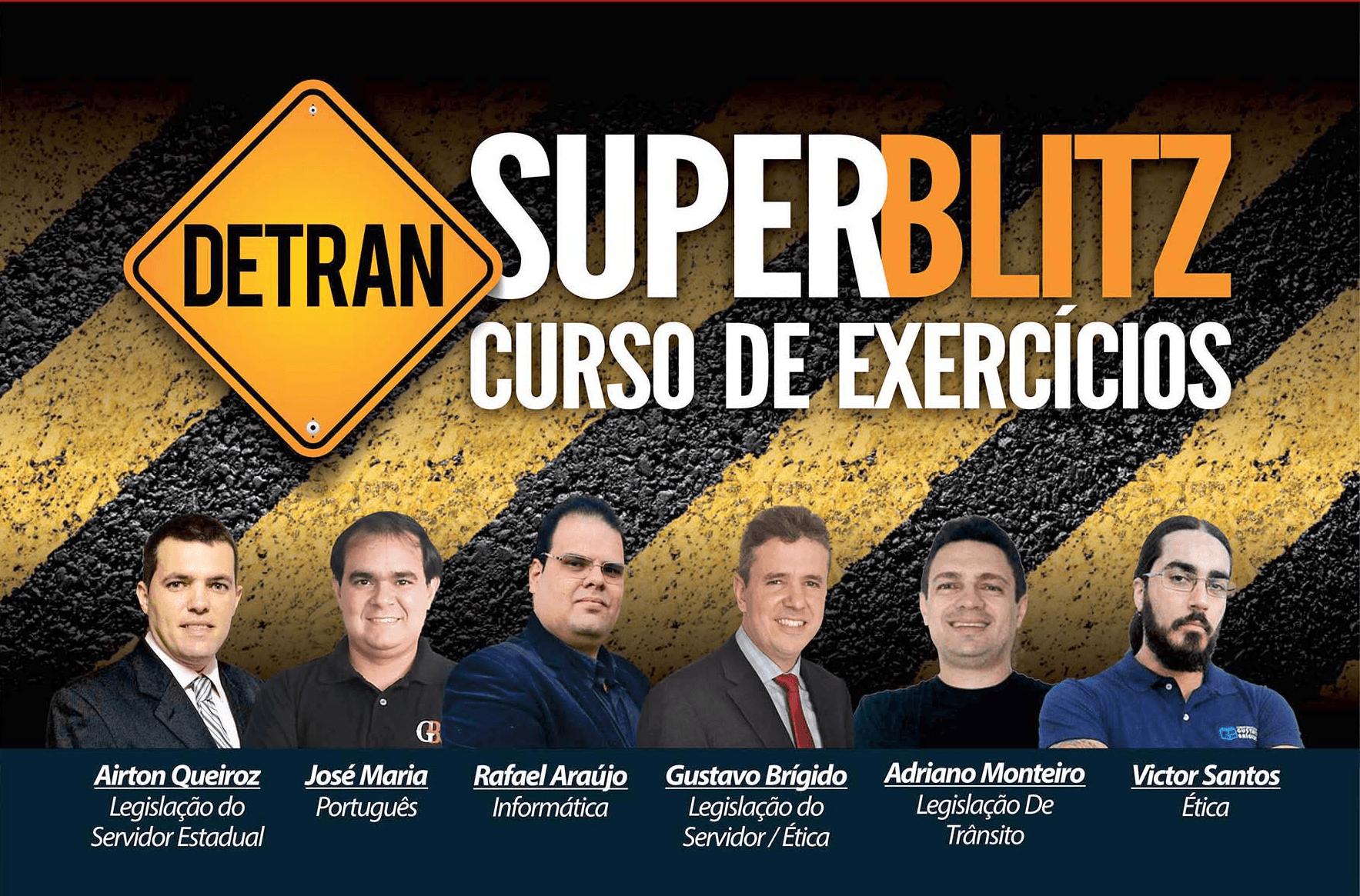 SUPER BLITZ - Curso de Exercícios - DETRAN