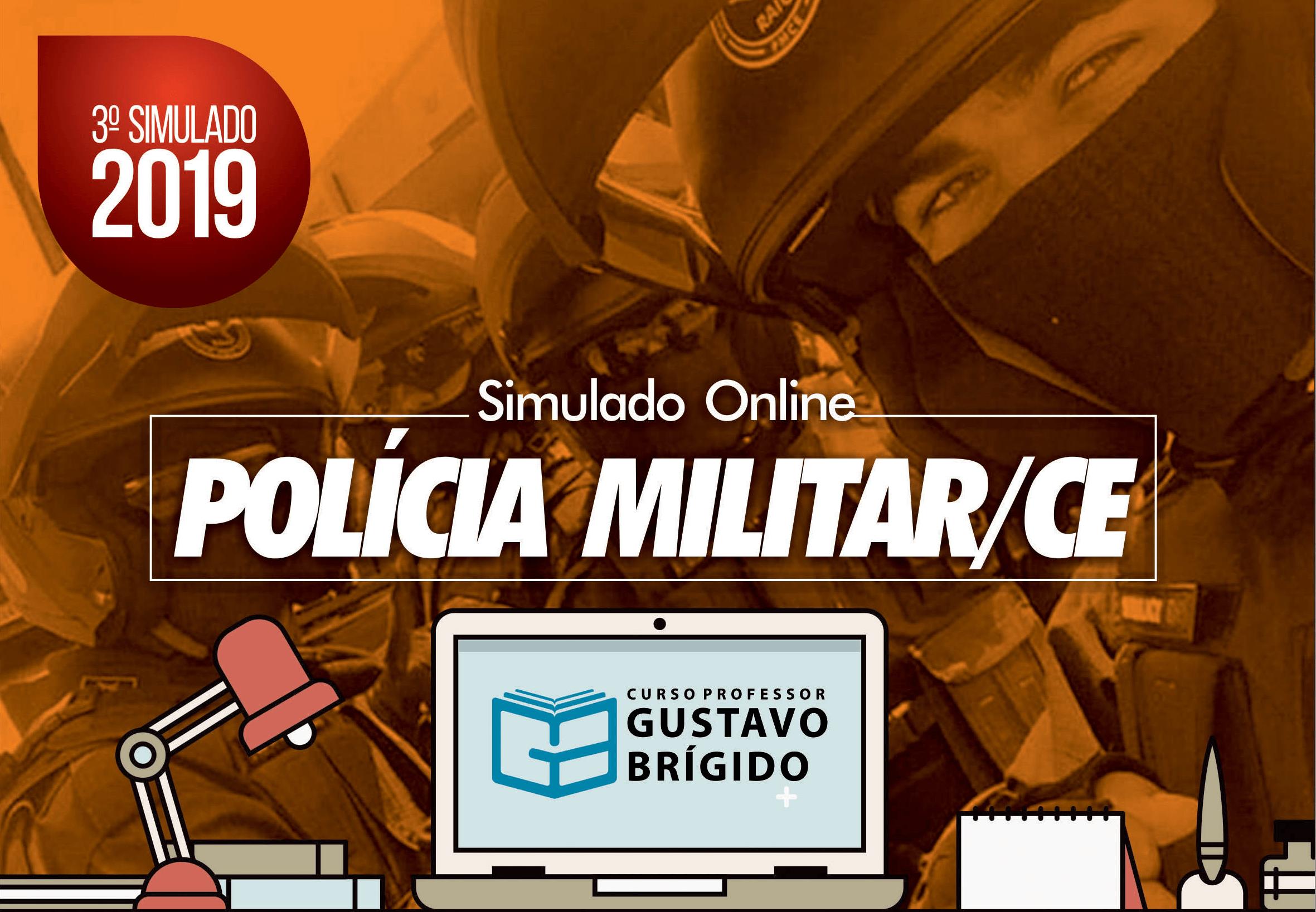 3° SIMULADO POLÍCIA MILITAR (2019) - EM PDF