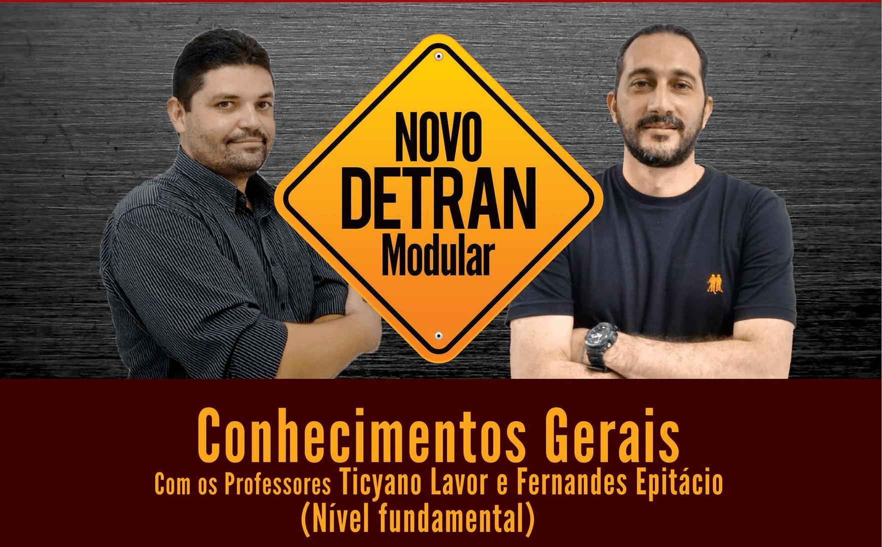 Conhecimentos Gerais - DETRAN - Cargo Nível Fundamental