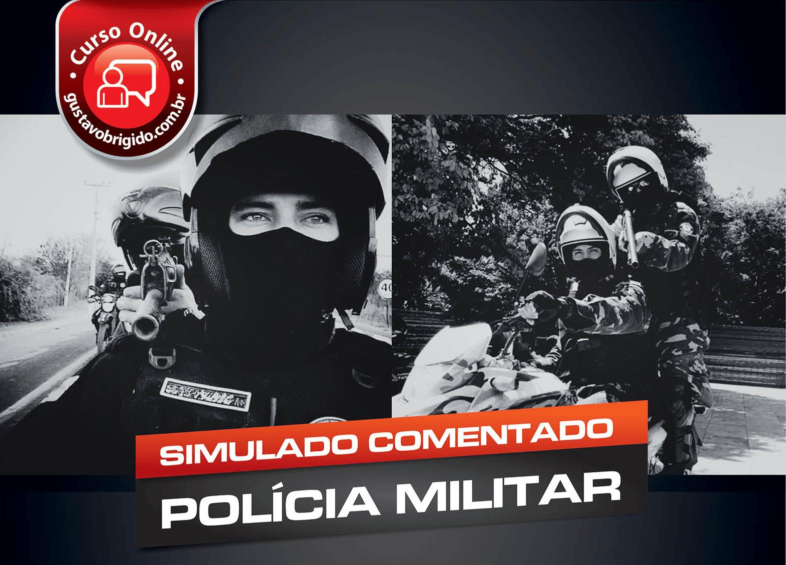 1° SIMULADO POLÍCIA MILITAR - EM PDF