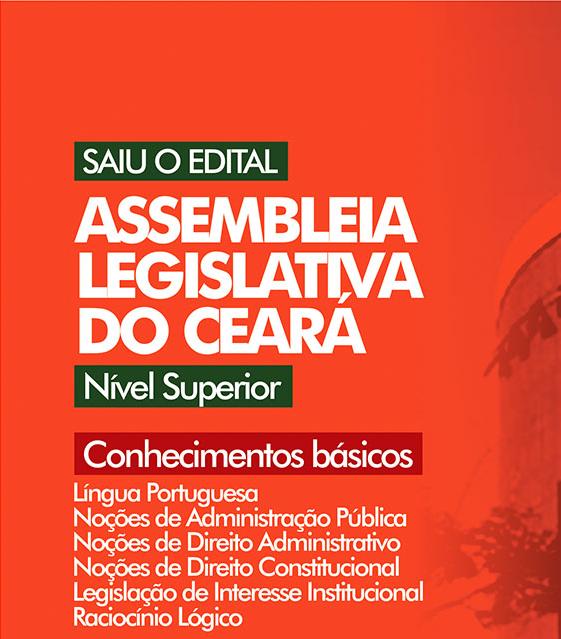 CURSO ASSEMBLEIA LEGISLATIVA - CONHECIMENTOS BÁSICOS - NÍVEL SUPERIOR