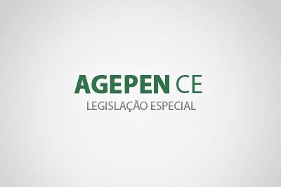 Legislação Especial - AGEPEN