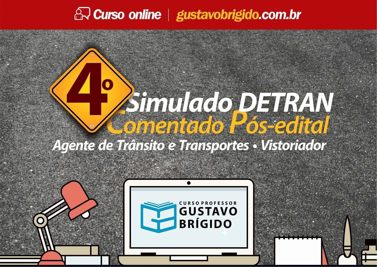 4° SIMULADO DETRAN - EM PDF
