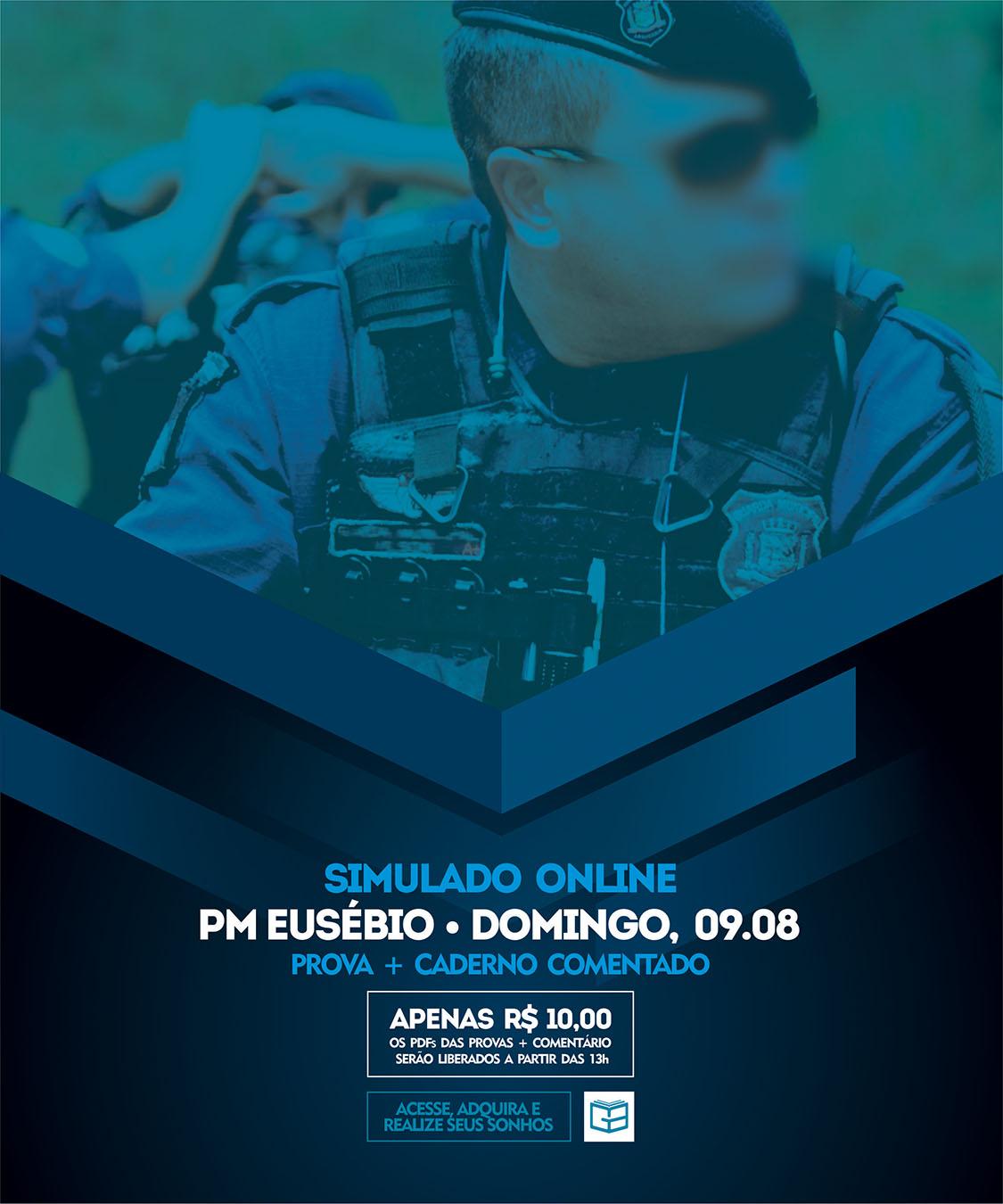 14° SIMULADO ONLINE POLÍCIA MUNICIPAL DE EUSÉBIO - EM PDF