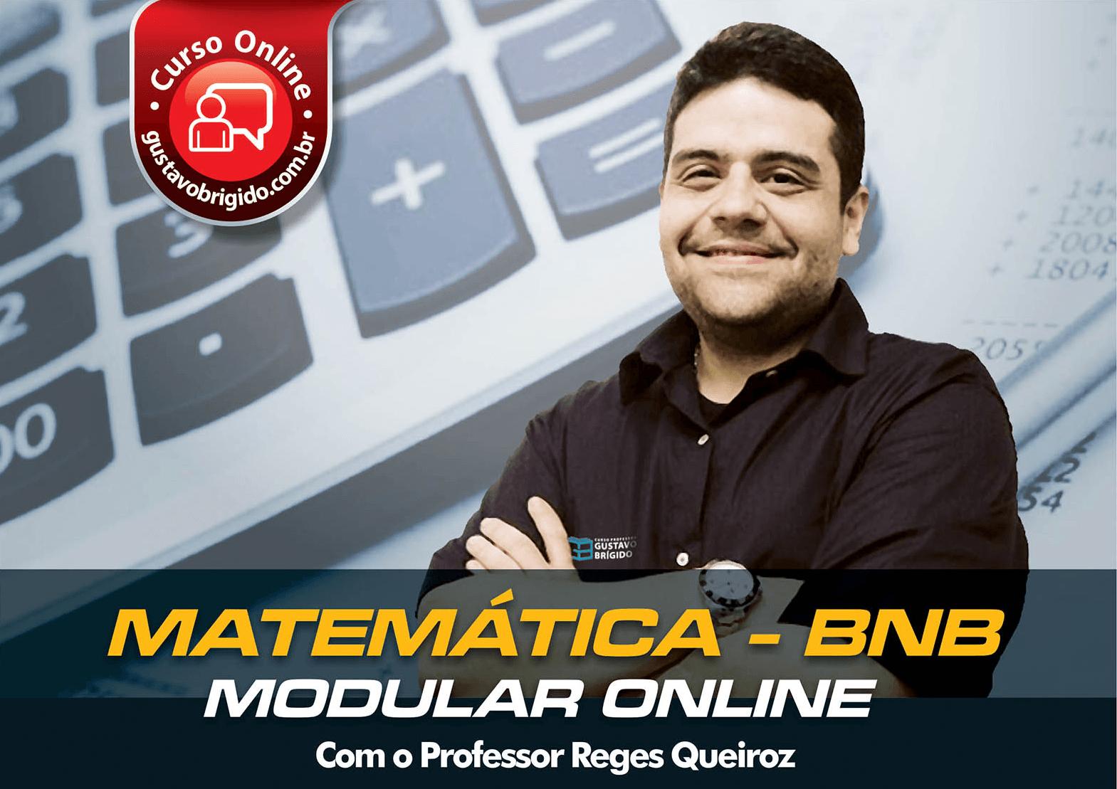Matemática BNB - Professor Reges Queiroz