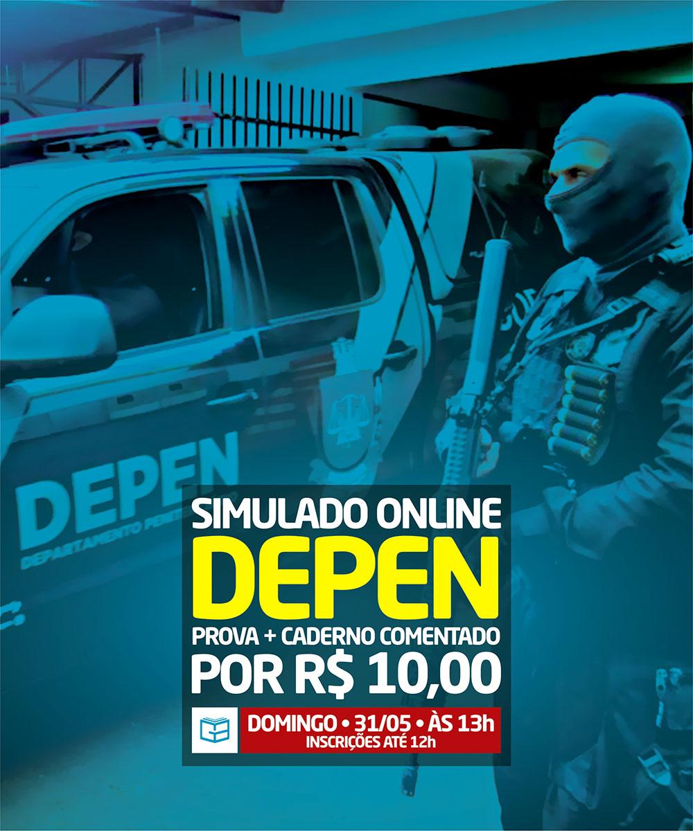 3° SIMULADO ONLINE DEPEN - EM PDF
