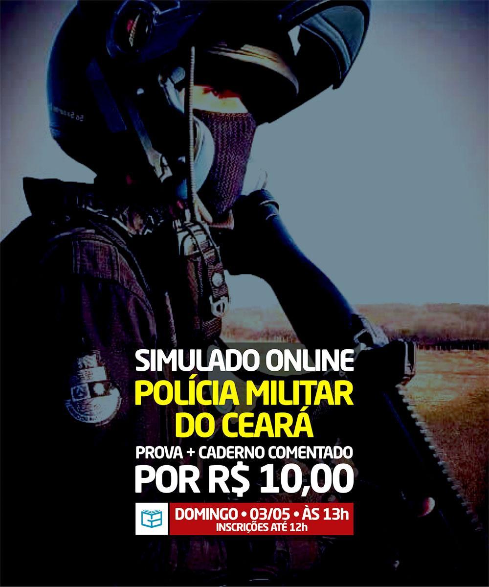 5° SIMULADO ONLINE POLÍCIA MILITAR - EM PDF