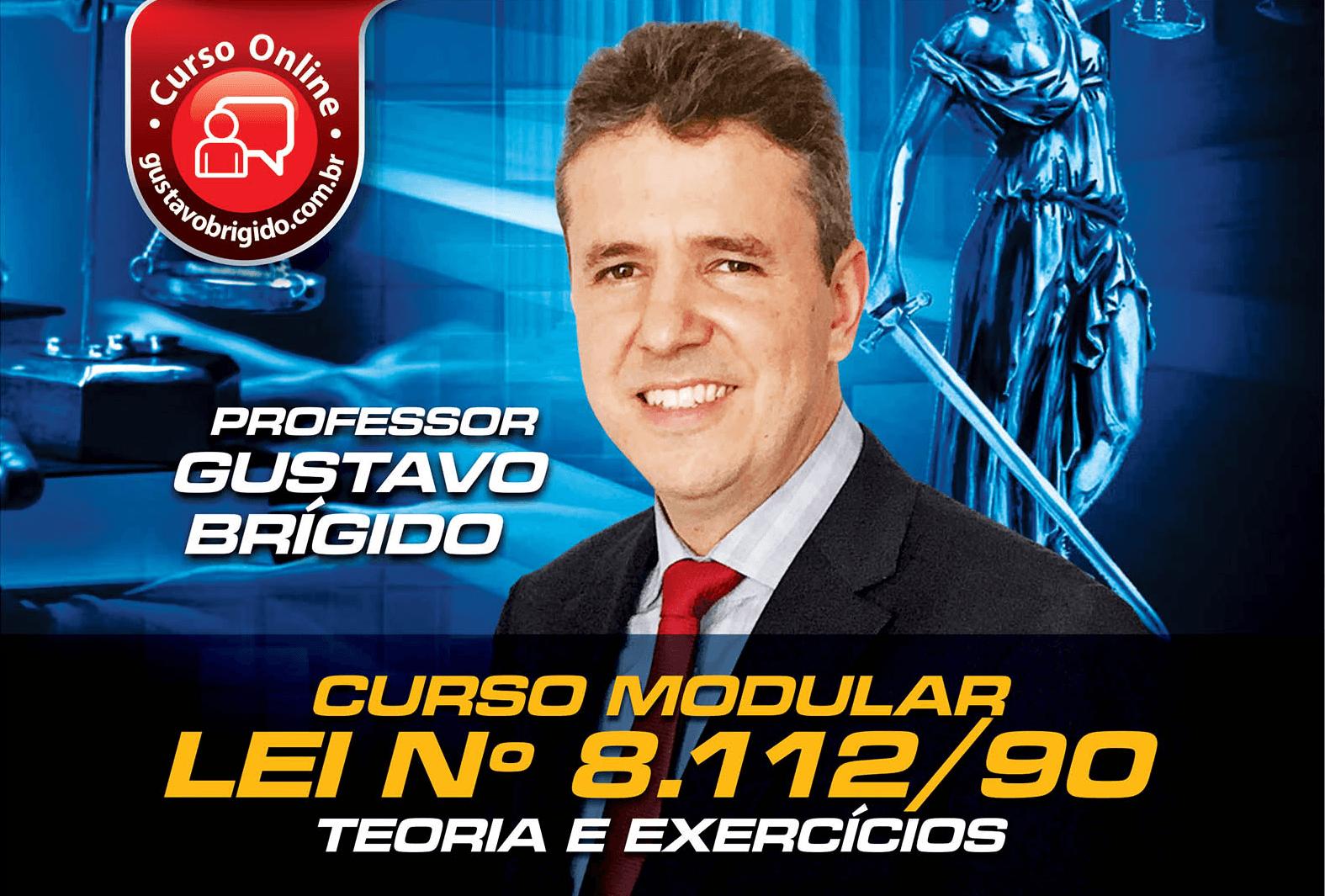 Lei 8.112/90 - Professor Gustavo Brígido