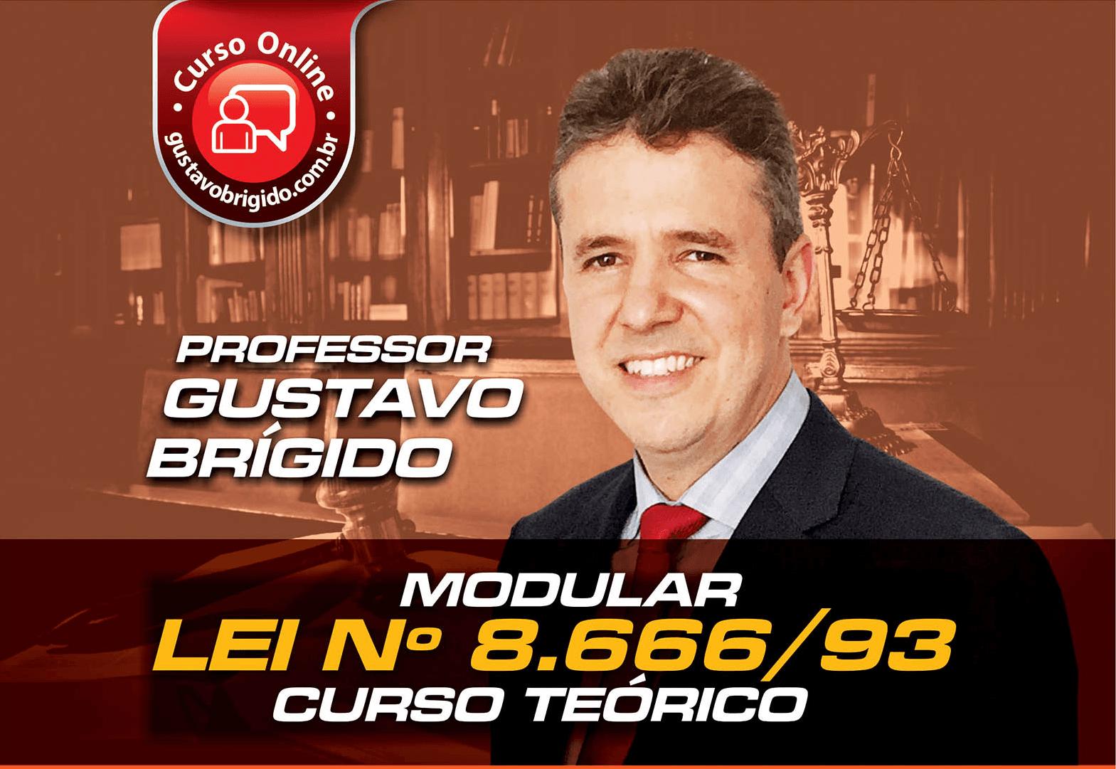 Lei 8.666/93 - Professor Gustavo Brígido