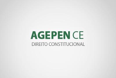Noções de Direito Constitucional - AGEPEN