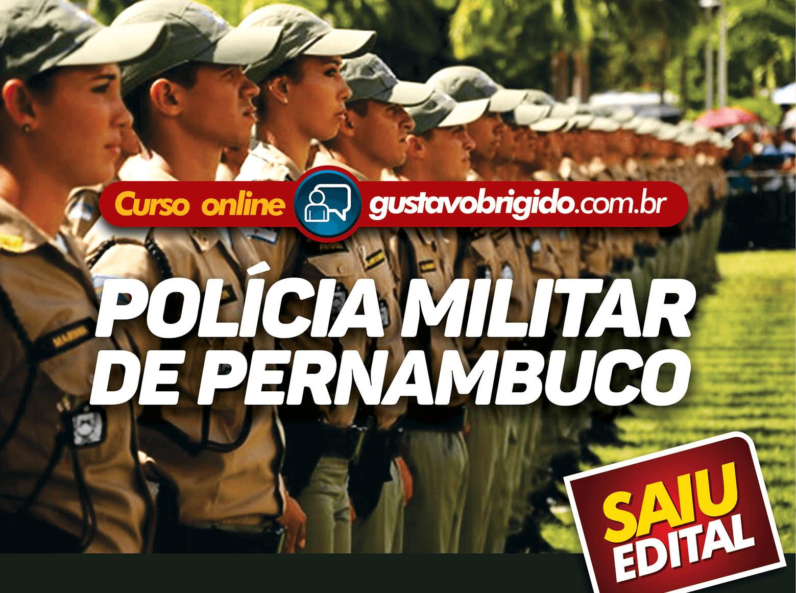 CURSO REGULAR POLÍCIA MILITAR - ESTADO DE PERNAMBUCO