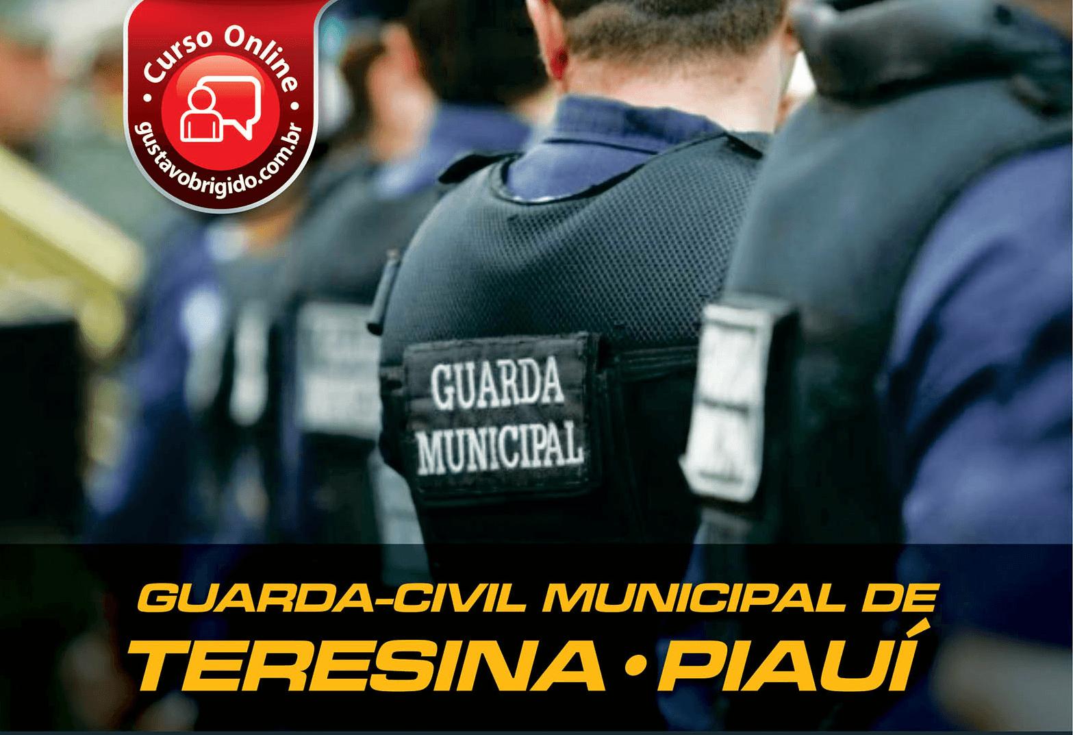 CURSO GUARDA-CIVIL MUNICIPAL DE TERESINA