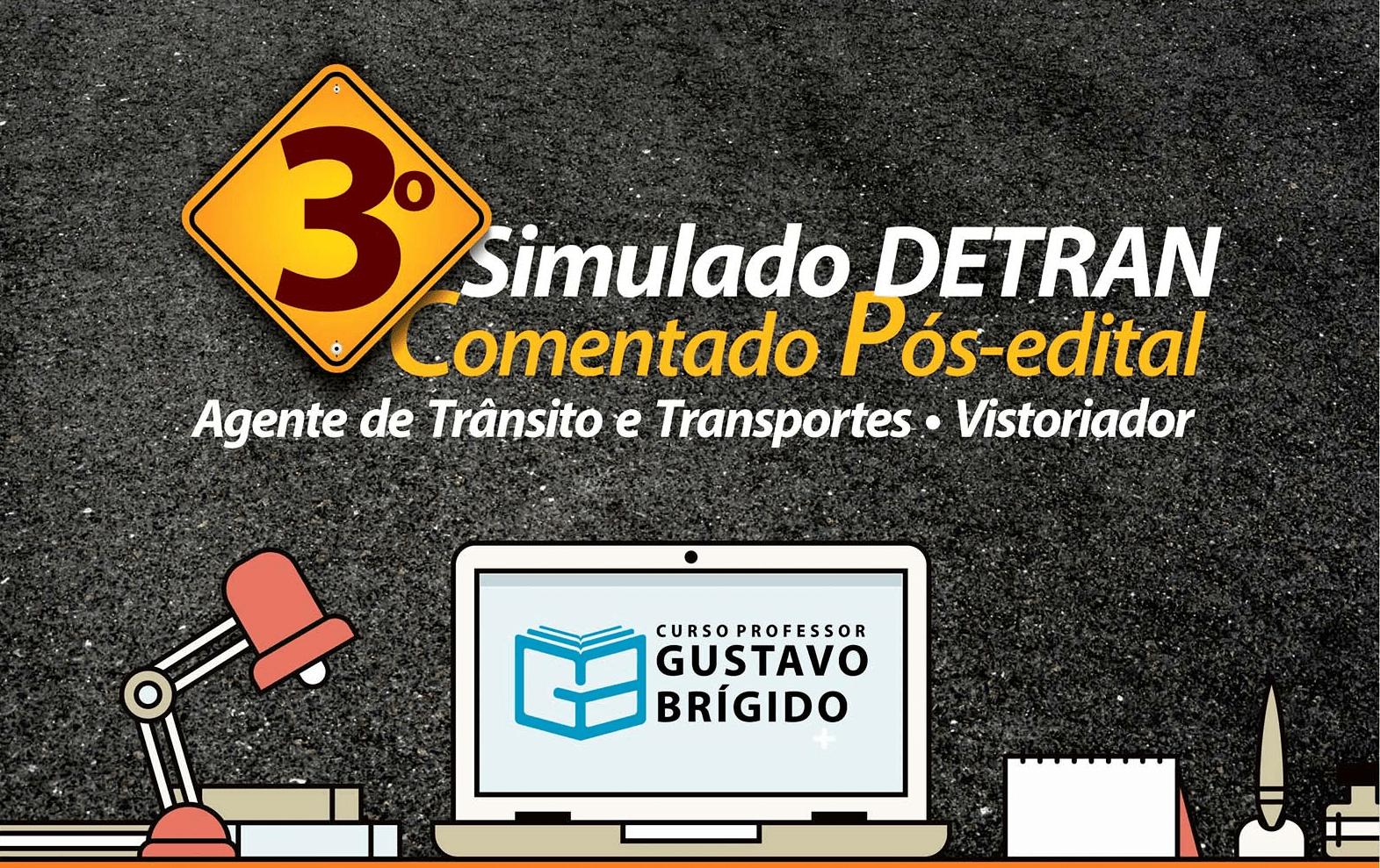 3° SIMULADO DETRAN - EM PDF