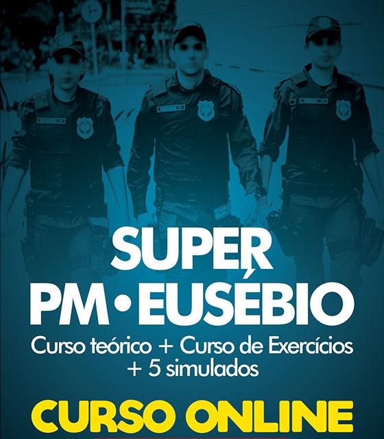 CURSO SUPER POLÍCIA MUNICIPAL DE EUSÉBIO