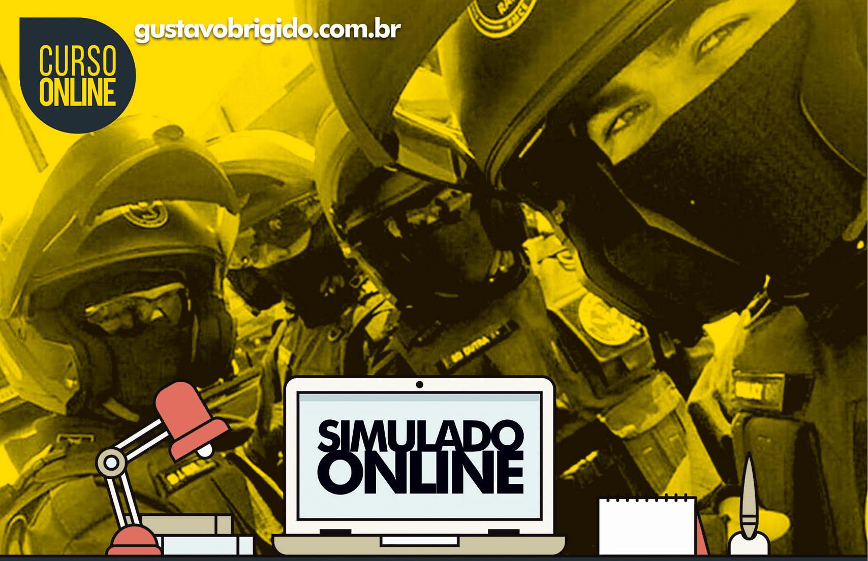 SIMULADO POLÍCIA MILITAR (27/10/2019) - EM PDF