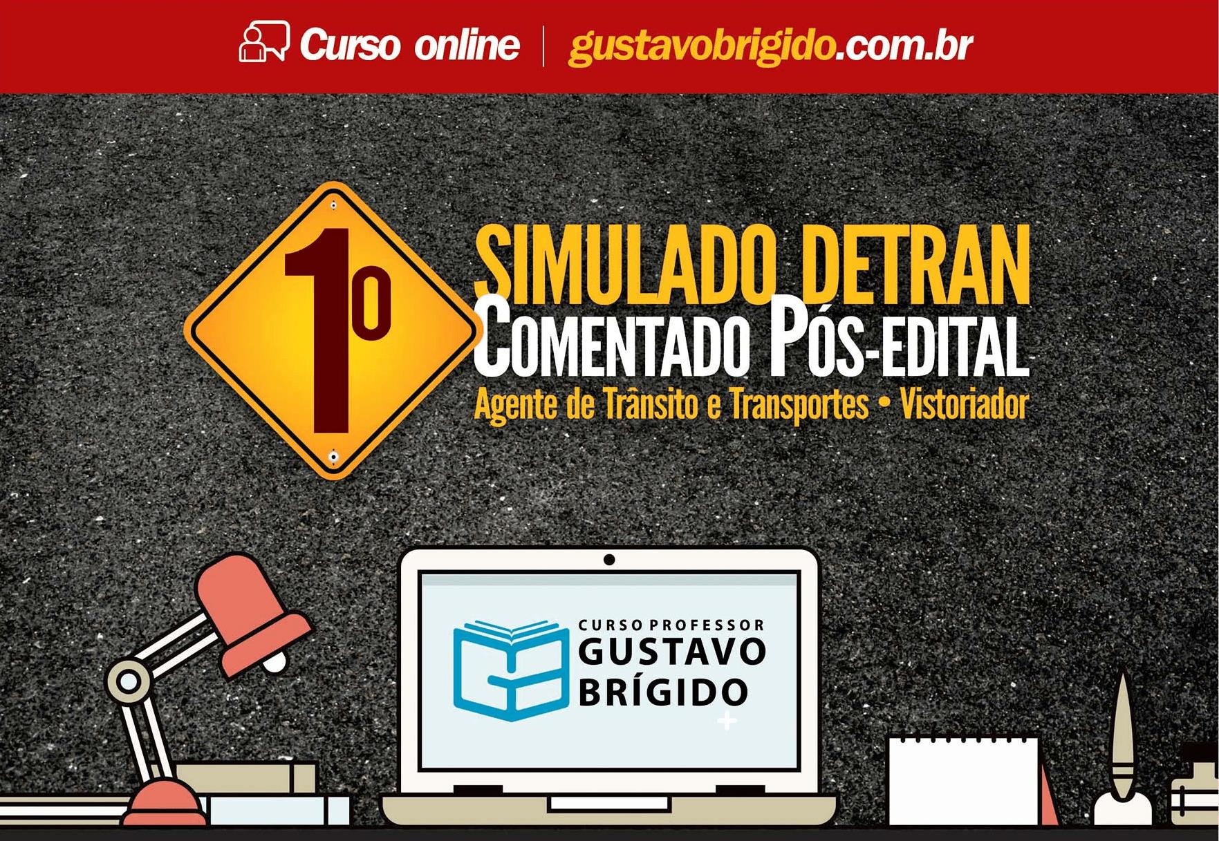 1° SIMULADO DETRAN - EM PDF