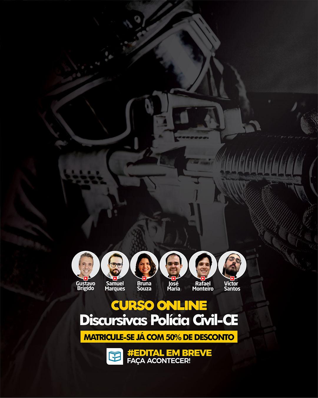 MODULAR DISCURSIVAS POLÍCIA CIVIL - CE