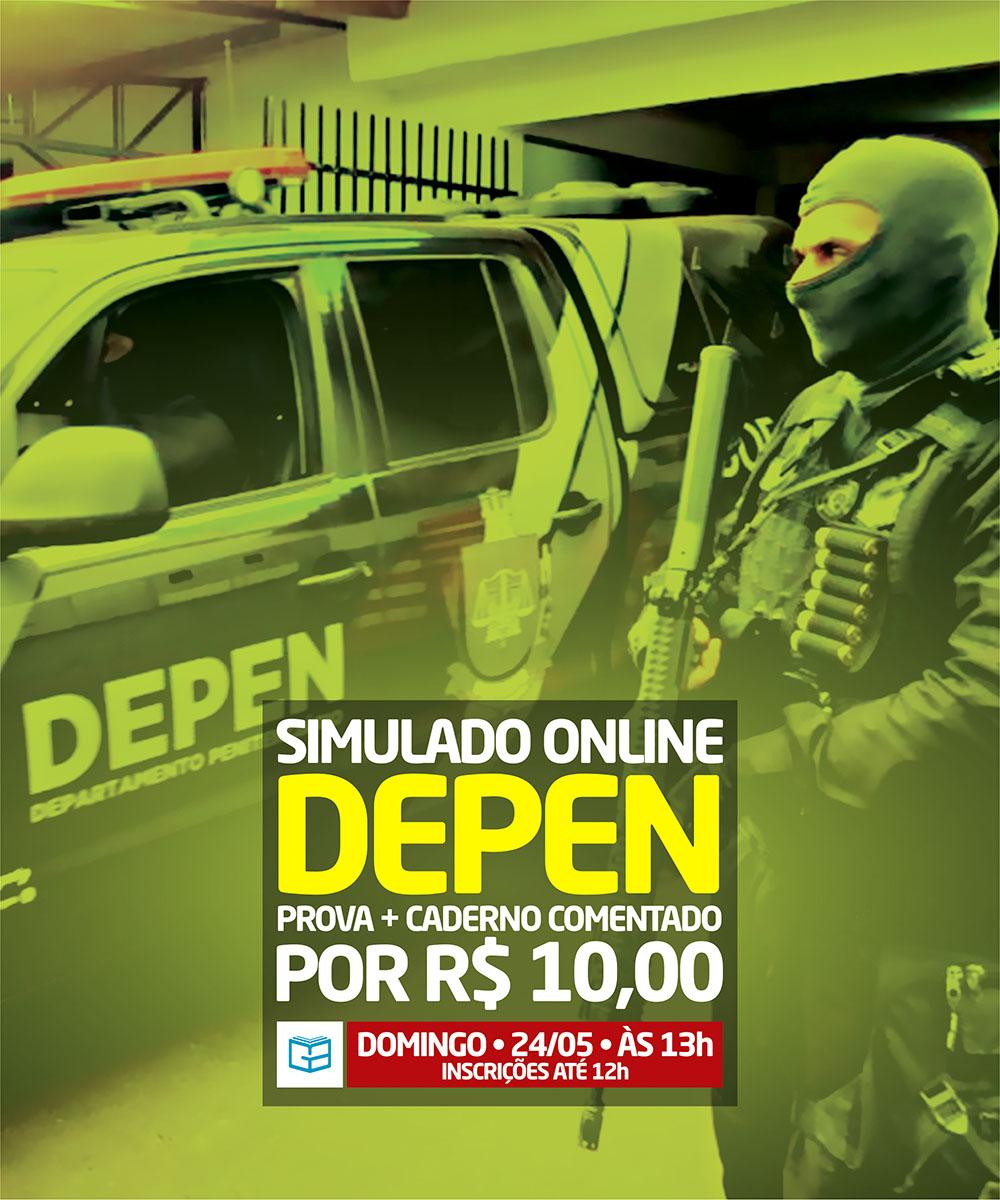 2° SIMULADO ONLINE DEPEN - EM PDF