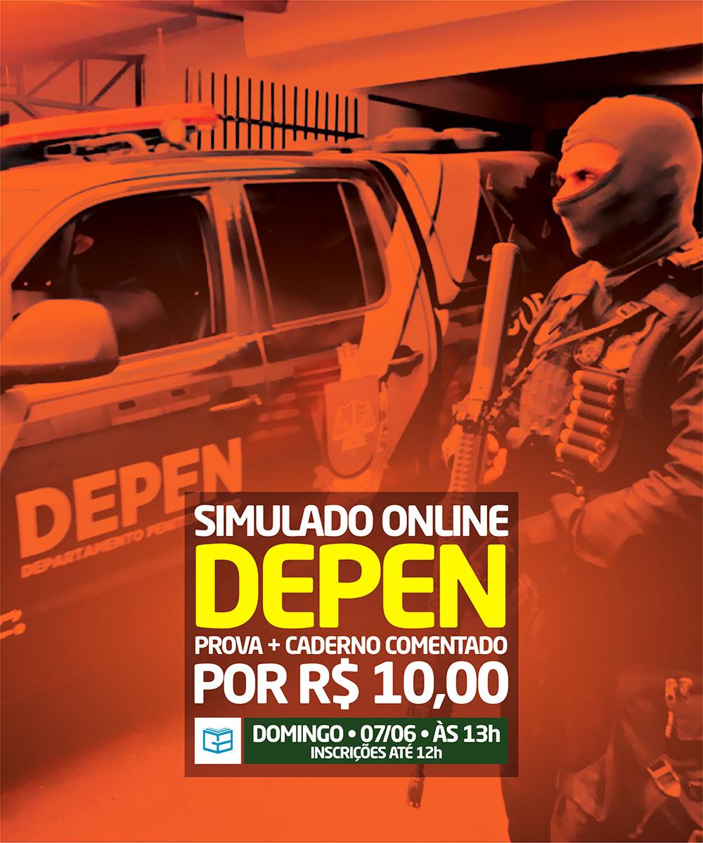 4° SIMULADO ONLINE DEPEN - EM PDF