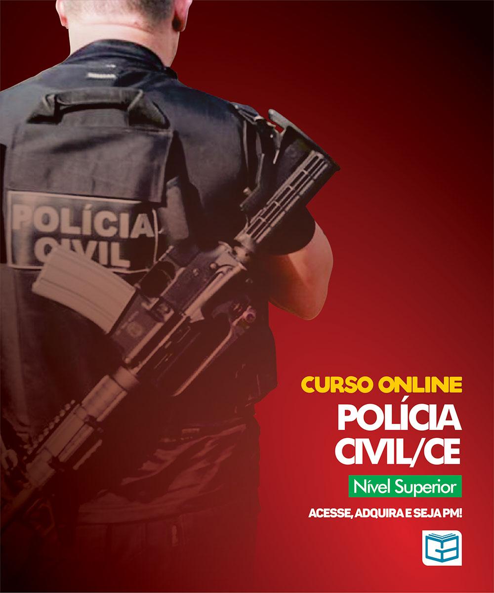 CURSO REGULAR POLÍCIA CIVIL - CARGOS: INSPETOR DE POLÍCIA E ESCRIVÃO DE POLÍCIA