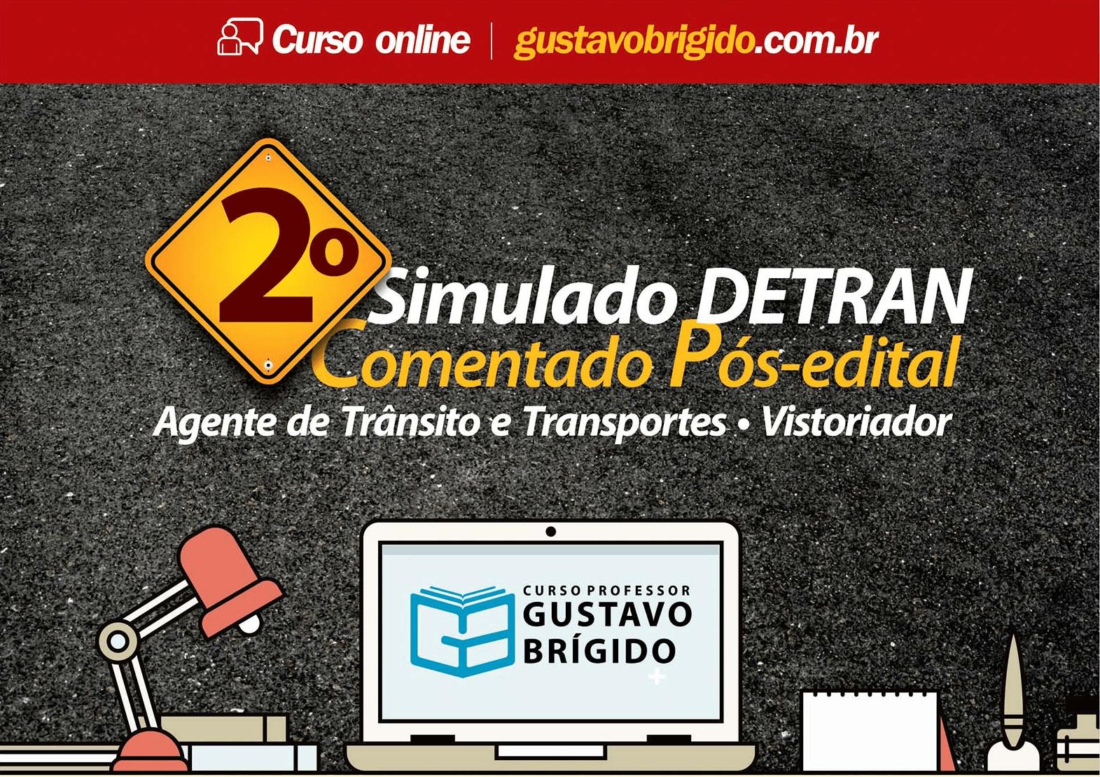 2° SIMULADO DETRAN - EM PDF