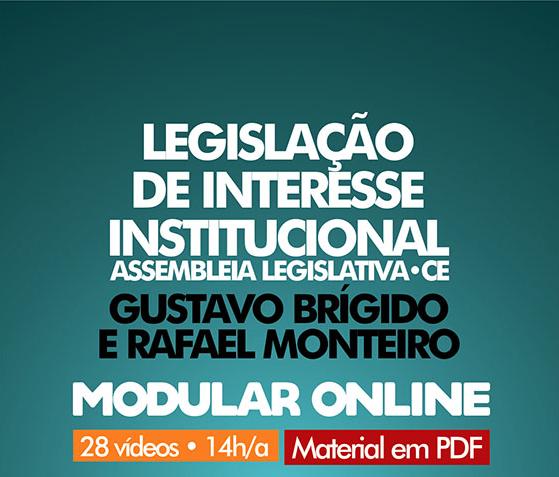 Legislação de Interesse Institucional ALECE