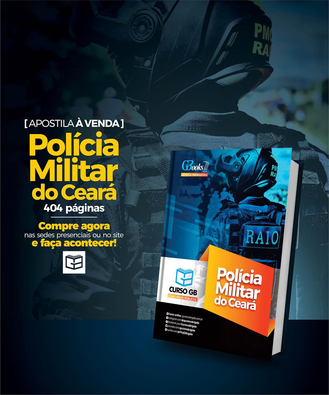 Apostila Teórica Preparatória POLÍCIA MILITAR · CE