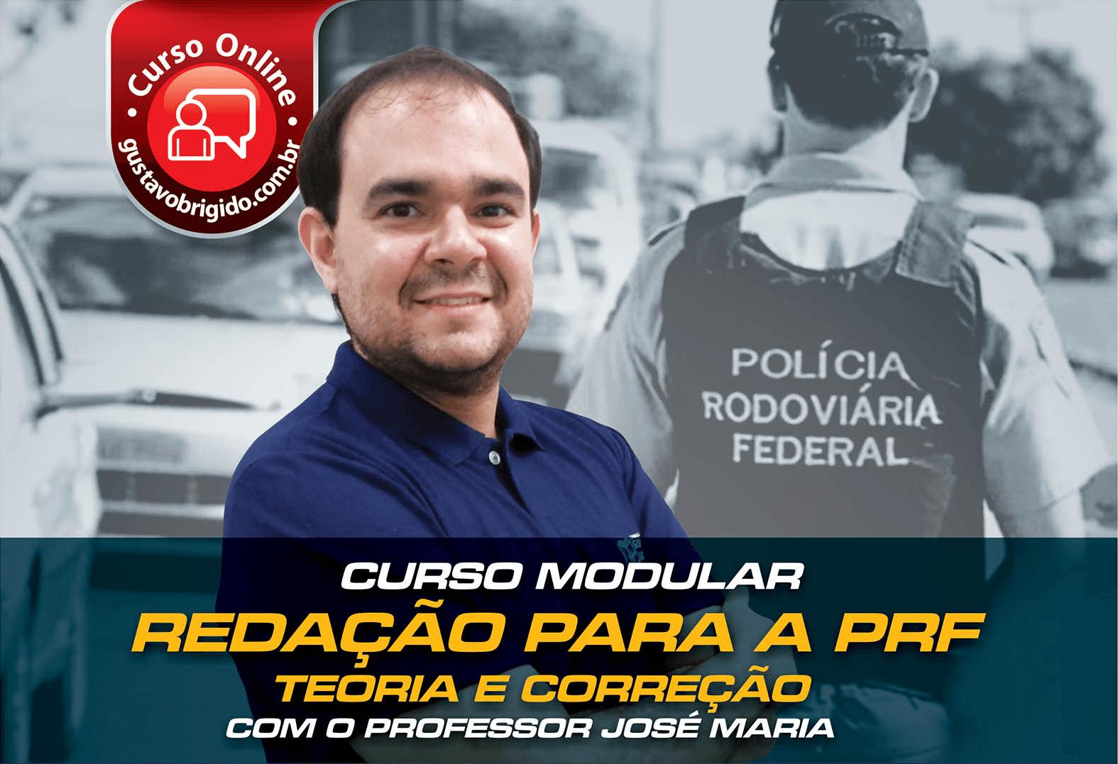 Curso de Redação para a PRF - Professor José Maria