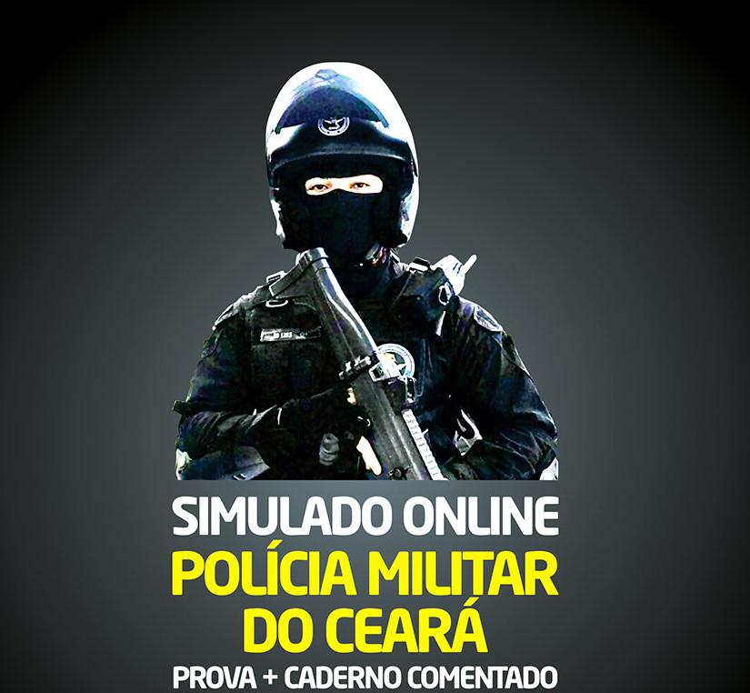 1° SIMULADO ONLINE POLÍCIA MILITAR - EM PDF