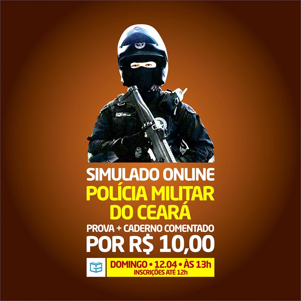 2° SIMULADO ONLINE POLÍCIA MILITAR - EM PDF
