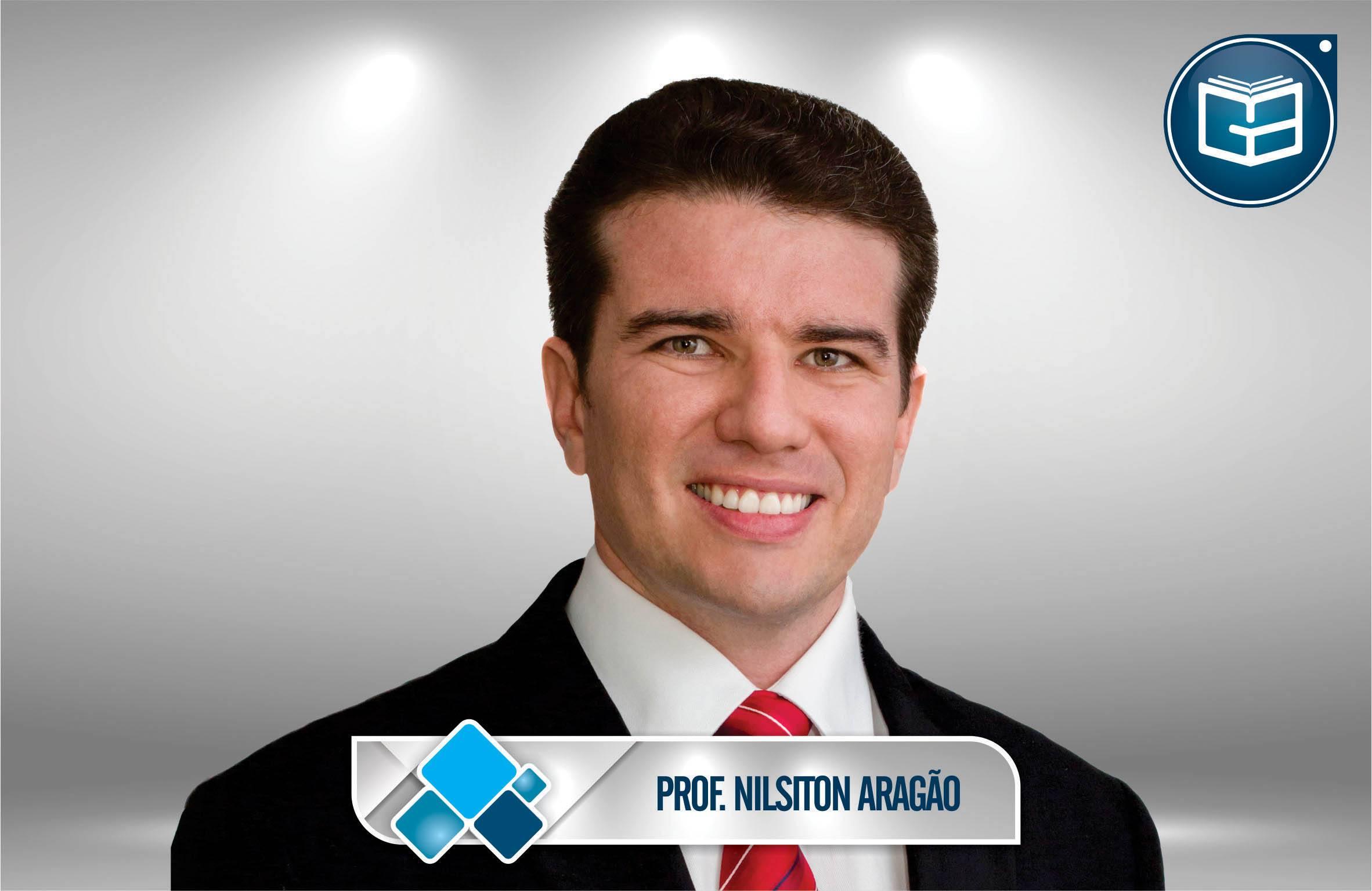Noções de Direito Processual Civil - Professor Nilsiton Aragão