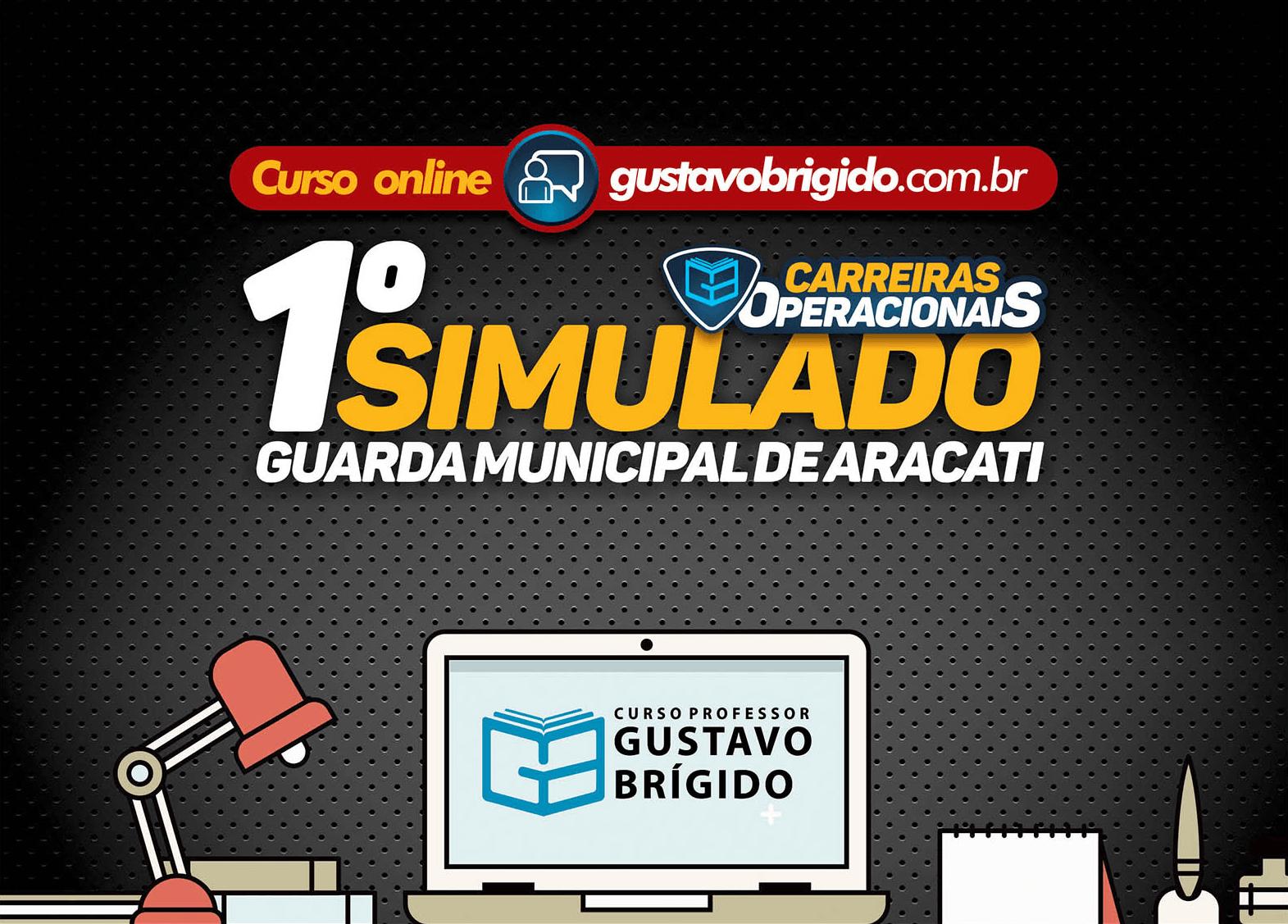 1° SIMULADO GUARDA MUNICIPAL DE ARACATI - EM PDF