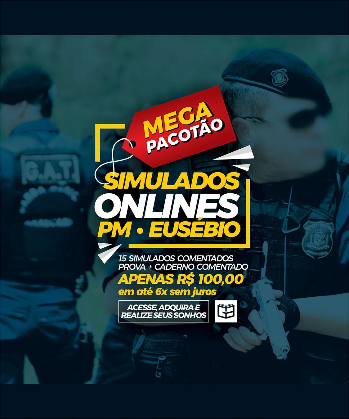 PACOTE DE SIMULADOS - POLÍCIA MUNICIPAL DE EUSÉBIO