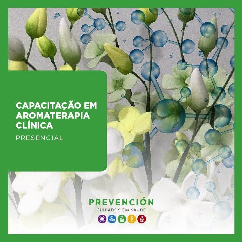 Capacitação em Aromaterapia Clínica (Curso Presencial no RJ)