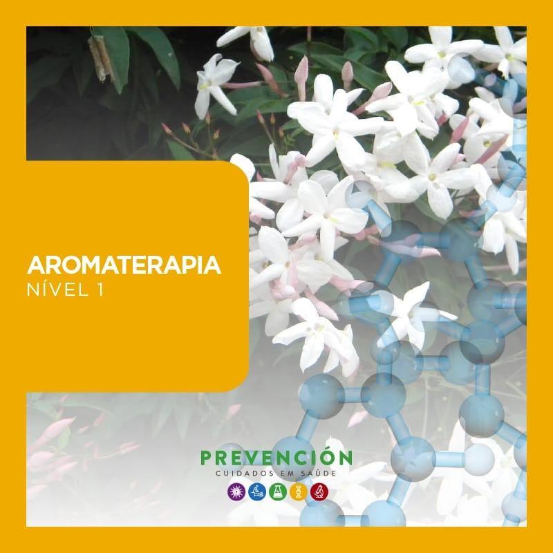 Aromaterapia Nível 1 (Curso Presencial no RJ)